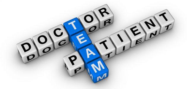 Crosswords, doctor, team, patient